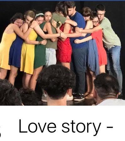 Ragazzi attori Love story