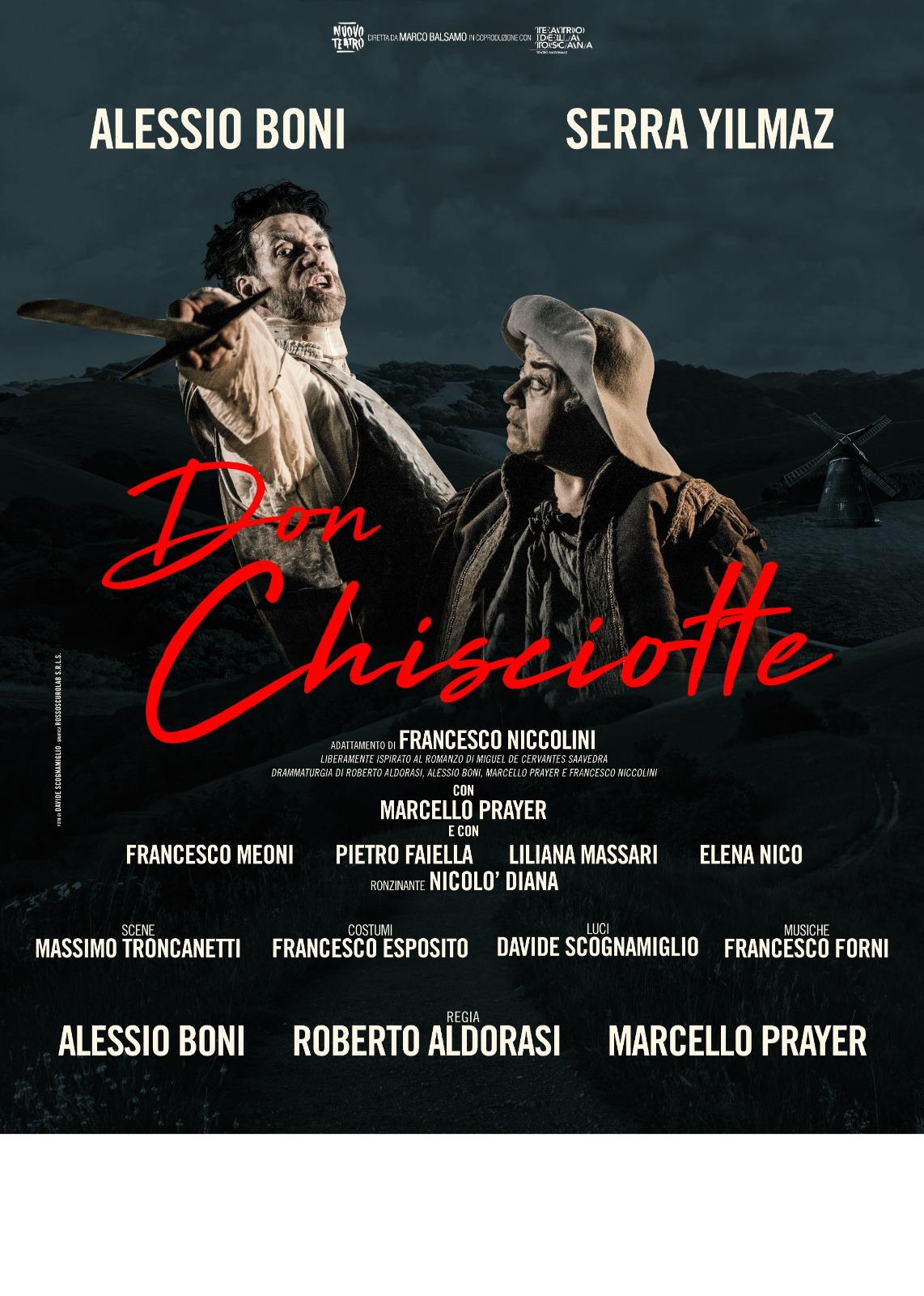 Spettacolo teatrale : Don Chisciotte :