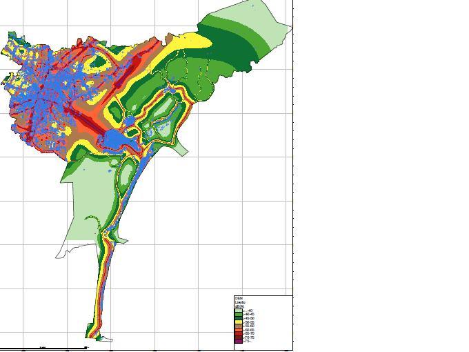 immagine della mappa acustica diurna