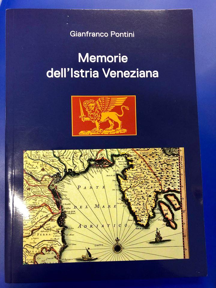 copertina libro Memorie dell'Istria veneziana