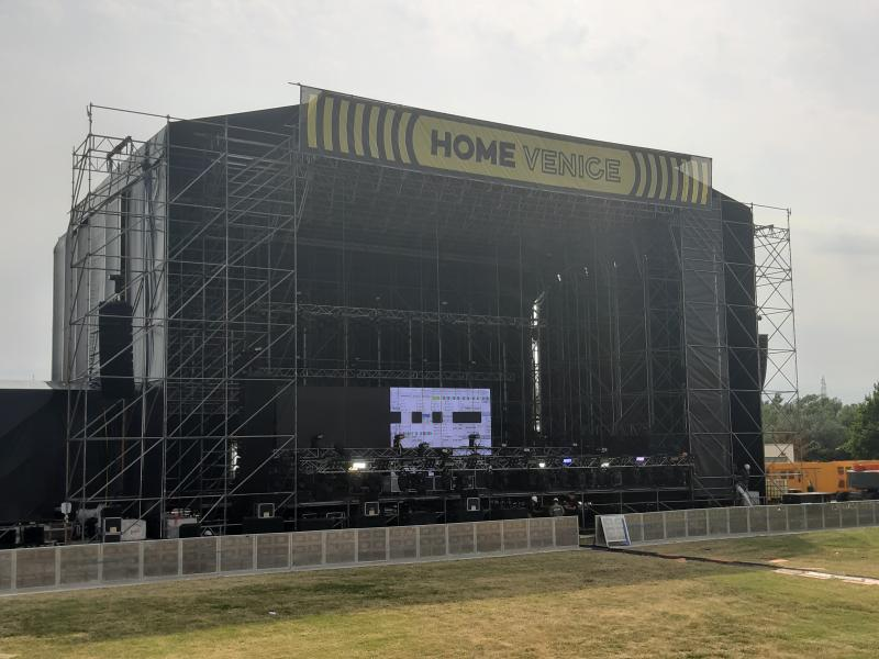 Il main stage