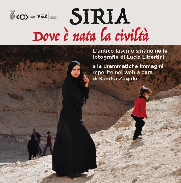 locandina Siria dov'è nata la civiltà