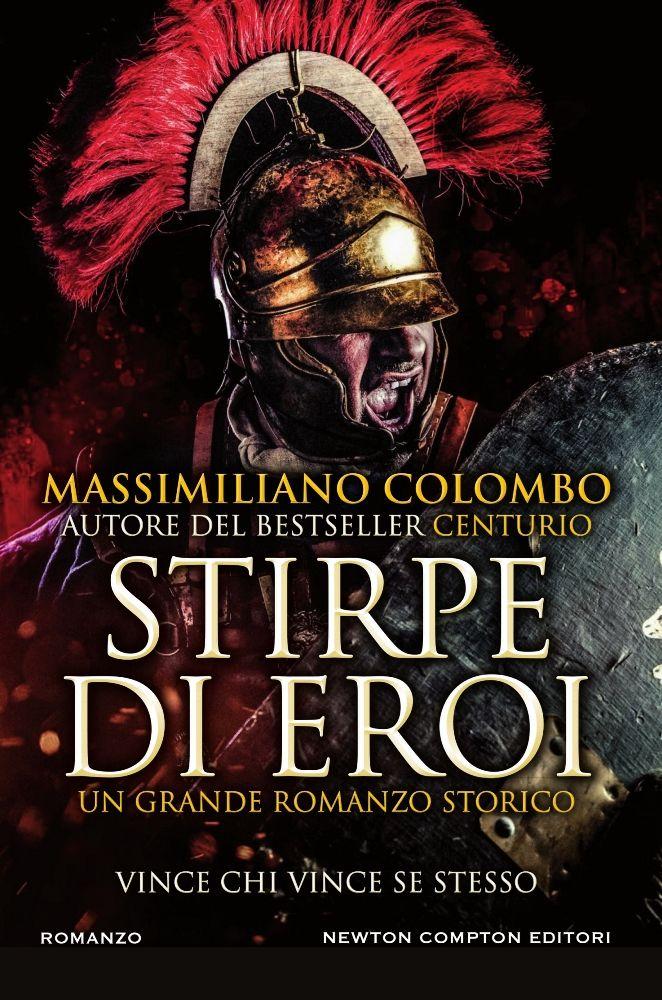 copertina libro Stirpe di eroi di Massimiliano Colombo