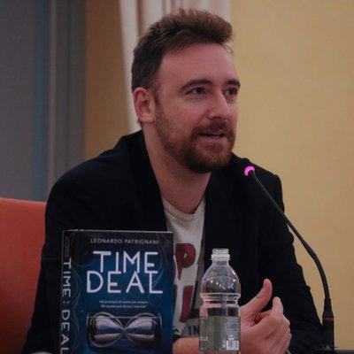 Leonardo Patrignani e il suo libro Time Deal