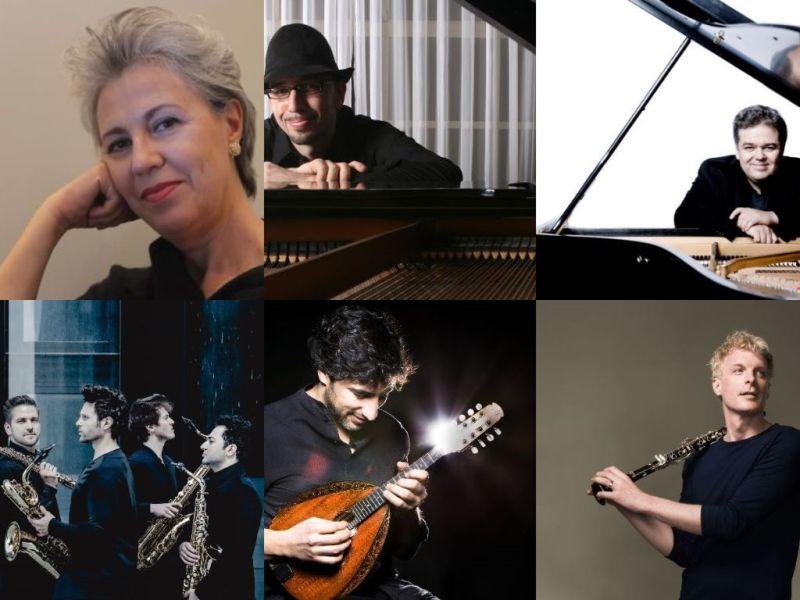 collage di foto dei musicisti della nuova Stagione