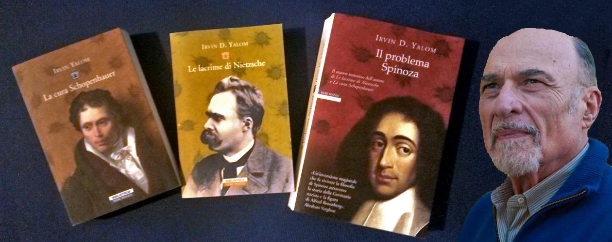 copertine libri Yalom e sua immagine
