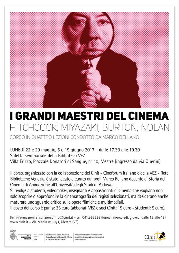 I grandi maestri del cinema in vez comune di venezia live - I grandi maestri del design ...