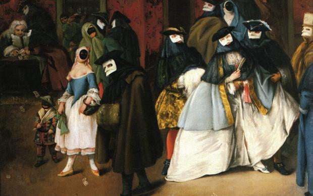 programma di incontri indossando maschere TN legge sulla datazione di un minore