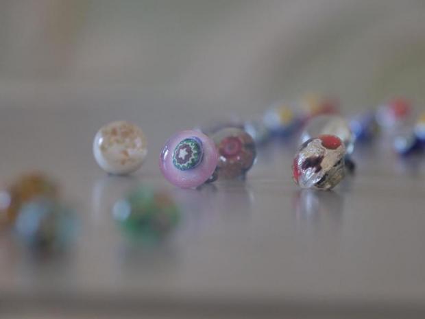 Bottoni di vetro