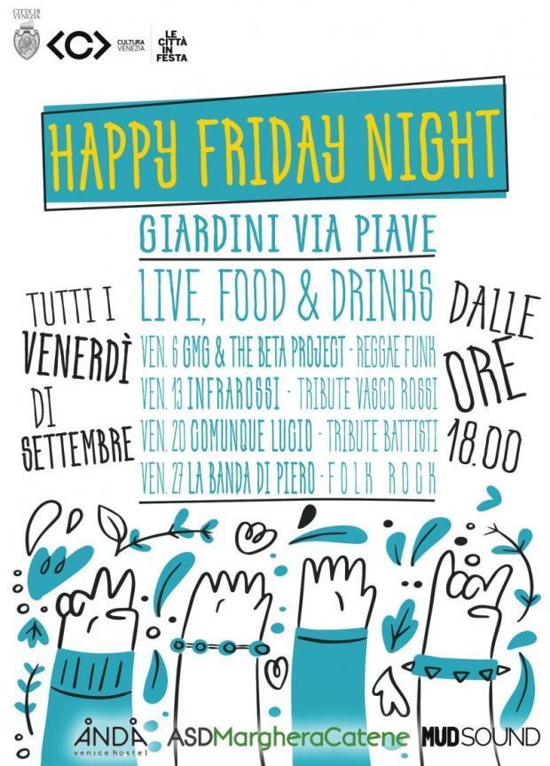 locandina Via Piave Friday Night